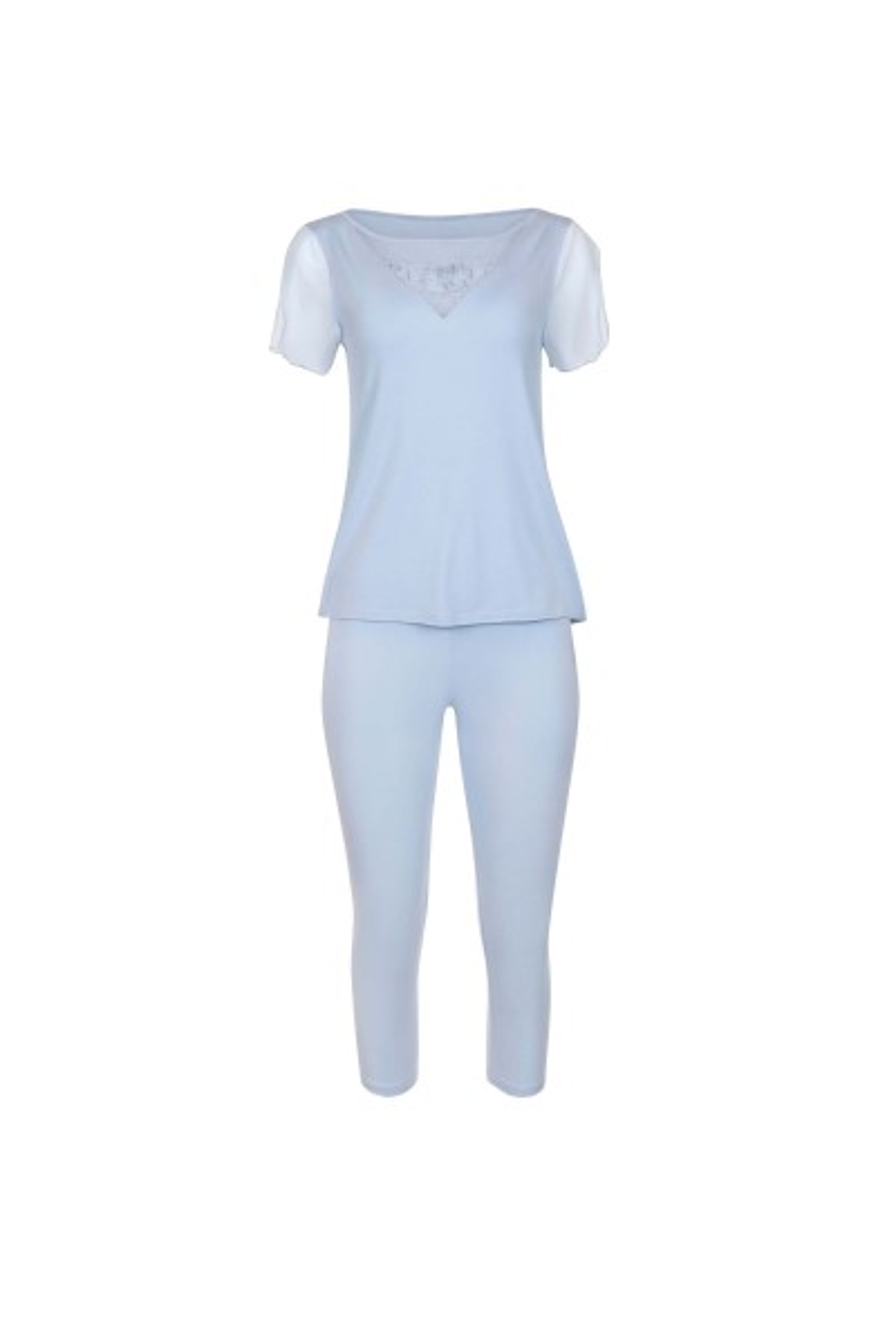 Pidžama s kratkim rukavima i 3/4 hlačama »Florianne«